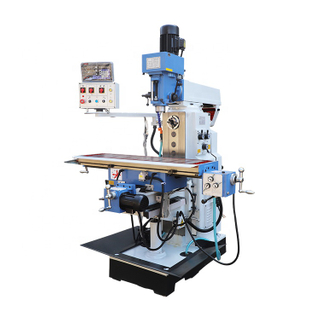Vertical Lifting Table Milling And Drilling Machine